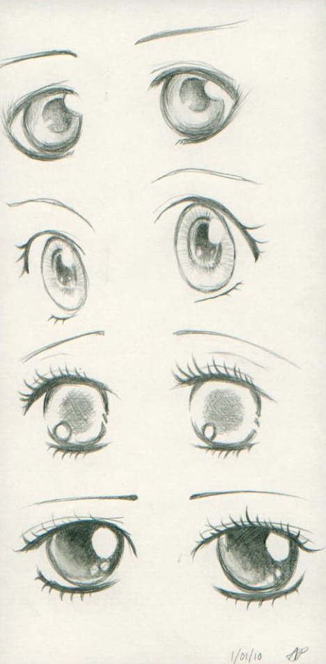 Anime Eyes I by AnhPho