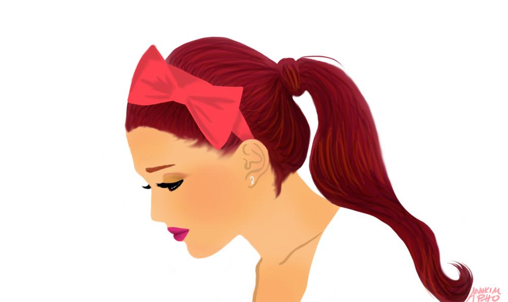 Ariana Grande Red Hair 2013 Tumblr