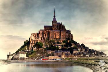 Mont-Saint-Michel by XanaduPhotography