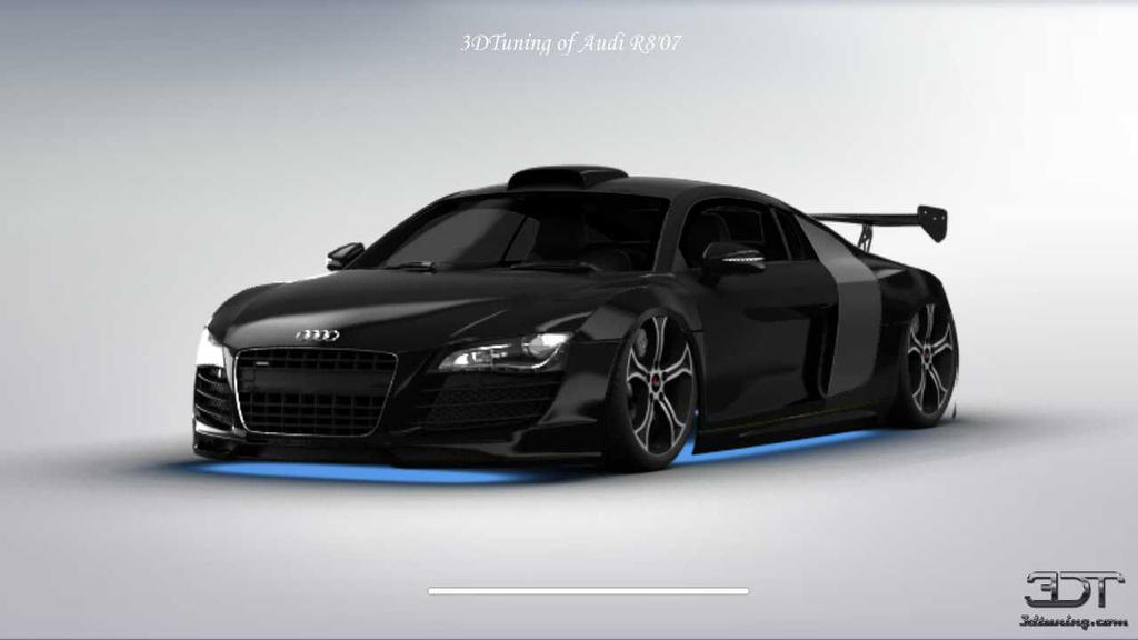audi r8 tuned with 3d tuning by jothehedgehog96 on deviantart. Black Bedroom Furniture Sets. Home Design Ideas