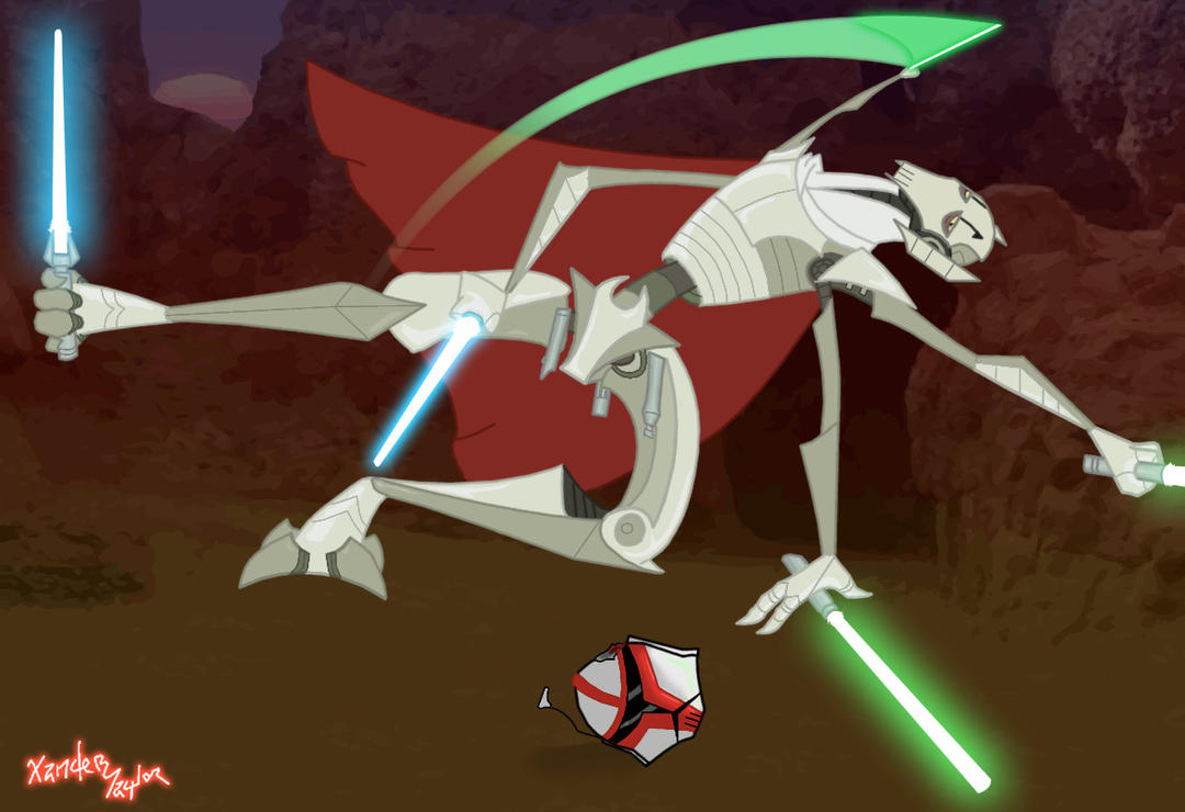 Star Wars - Tributo al General Grievous [Video e Imágenes]