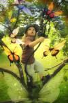 her butterflies dream