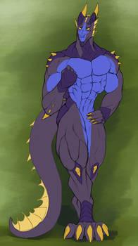 Buff Blue Derg