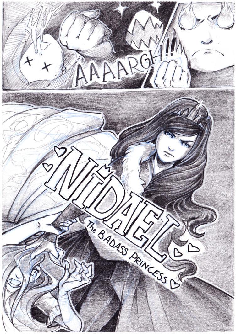 Nidael - the badass princess comic strip by Ay-u