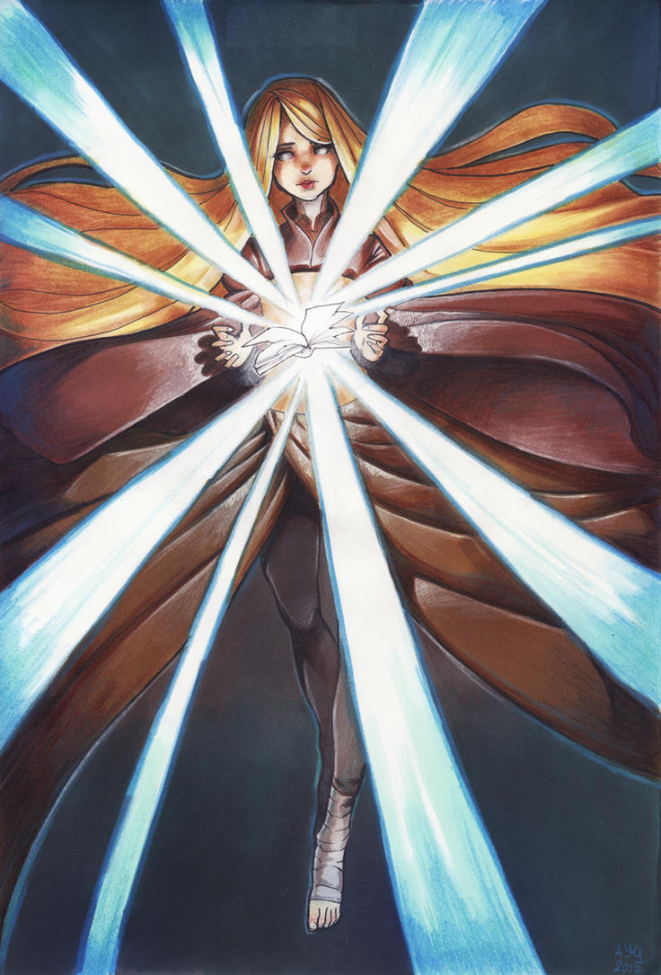 Book of magic by Ay-u