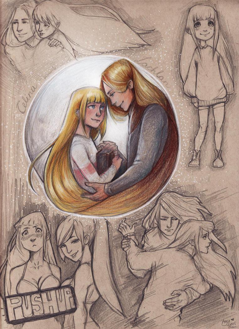 Celina - Lachlan - giftart vagymiez by Ay-u