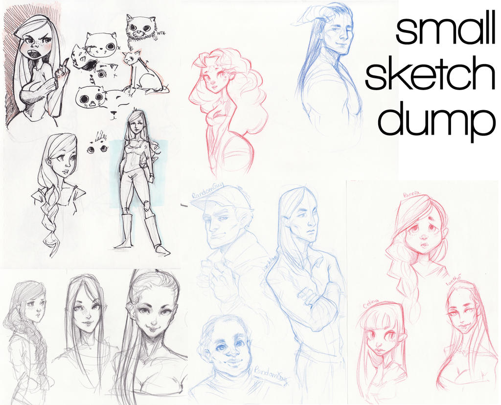 Small Sketchdump by Naeviss