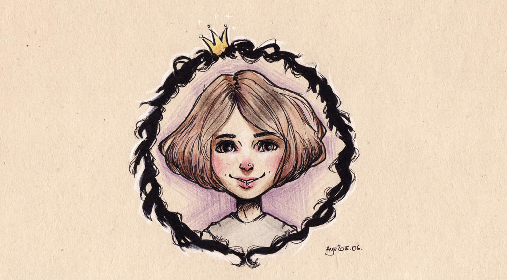 Ash giftart fairy tale headshot by Naeviss