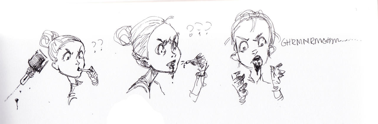 Mechanical pens all the time by Naeviss