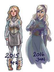 Evonnia - Before - After by Naeviss