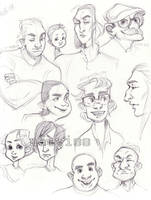 Draw Some Faces Challenge by Naeviss