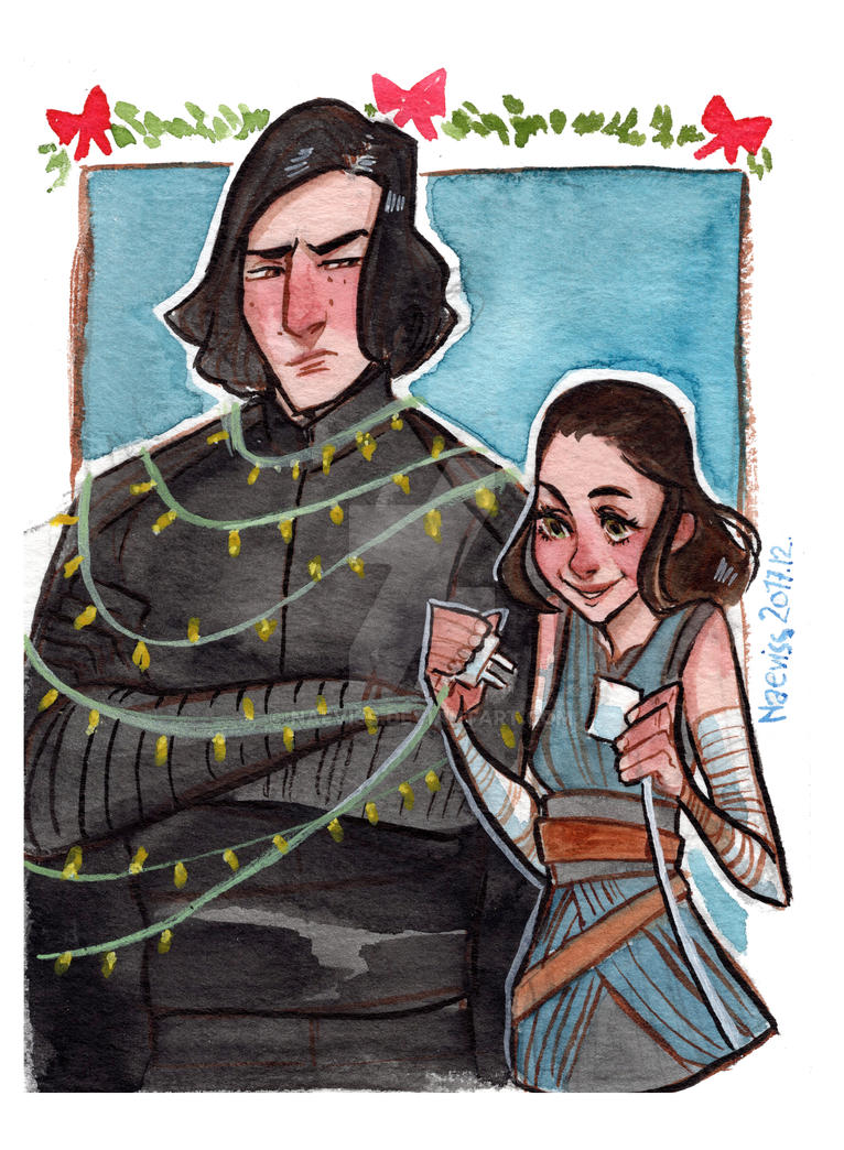 Christmas Card: Star Wars by Naeviss on DeviantArt