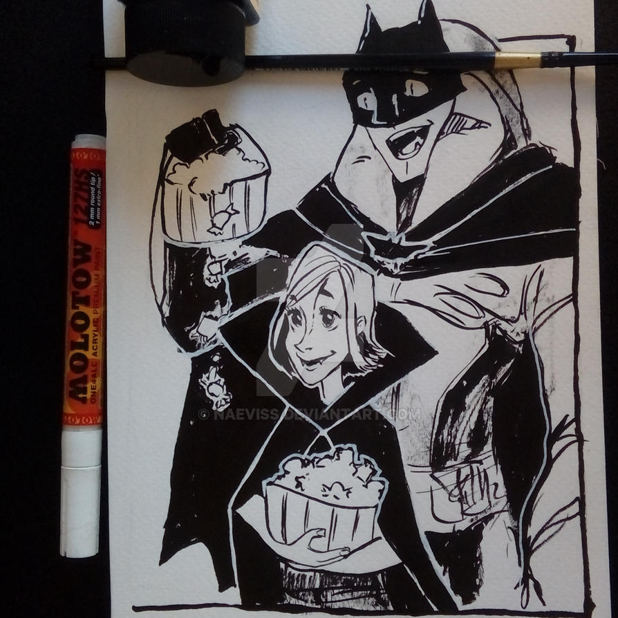 Inktober Day I have no idea - Halloween by Naeviss