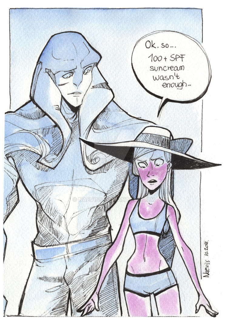 Mass Effect Inktober Day 14 by Naeviss