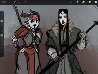 Dragon Age characters of mine