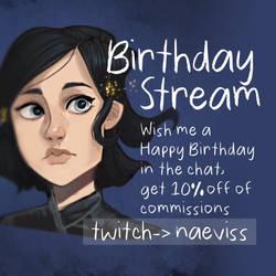 Birthday Stream!