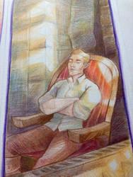 Dragon Age Penciltober - Day 3. Cullen