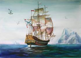 Ship Vostok by AmyLee125