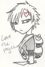 Love the psycho by the-pink-angel