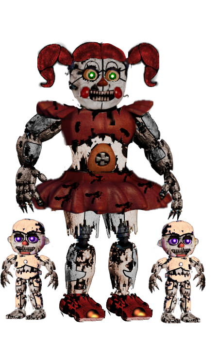 how to get baby nightmare circus game files