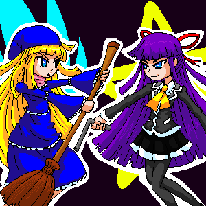 Witch vs Feli by ChronoTata