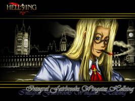 Integra Hellsing by ChronoTata