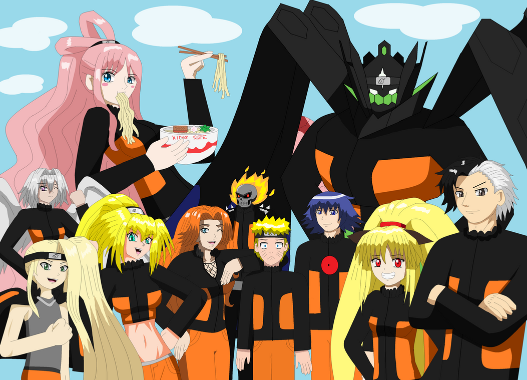 Naruto Suzumebachi Naruto's World 2 by Rr...