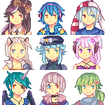 Icon Compilation 2 by Sychandelic