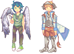 PIXEL DOLL COMMISSIONS (to be updated) by Sychandelic