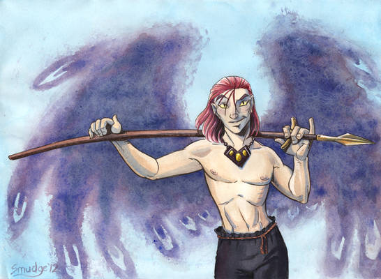 Sebastian Spreads His Wings