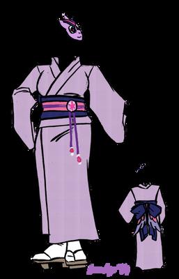 TwilightSparkle Yakata Costume Idea