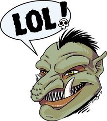 The Laughing Troll
