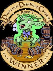 Dwarven Drinking Contest ~Round 3~ WINNER