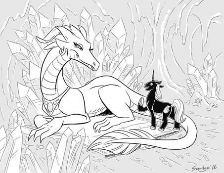 a Dragon Audiance
