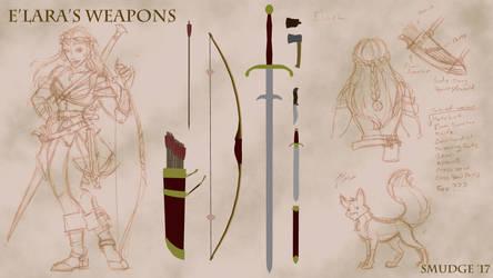 E'Lara's Weapons