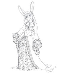 May in Gown by SmudgeDragon
