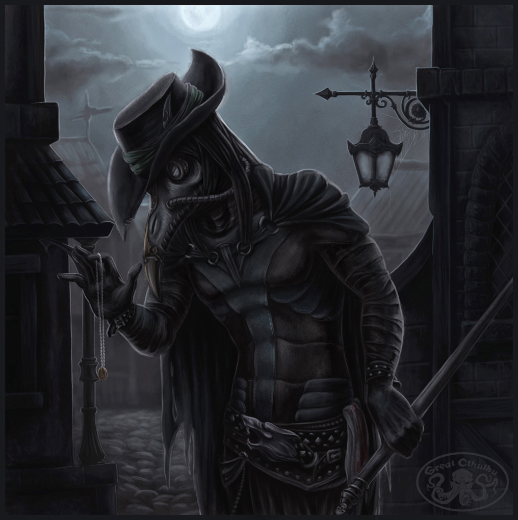 steampunk plague doctor by cthulhugreat on deviantart