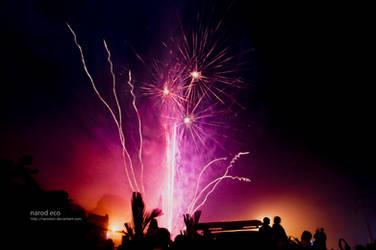 Fireworks by narodski