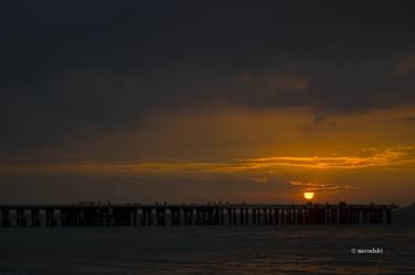 Corregidor Sunset by narodski