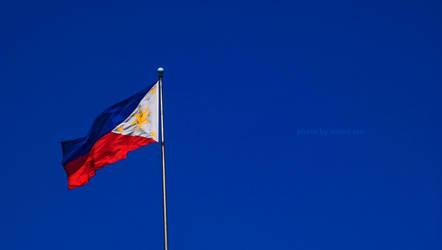 Philippine Flag by narodski