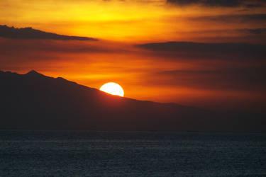 Manila Bay sunset by narodski
