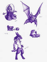 Pokedoodles Week Two by Phycofox