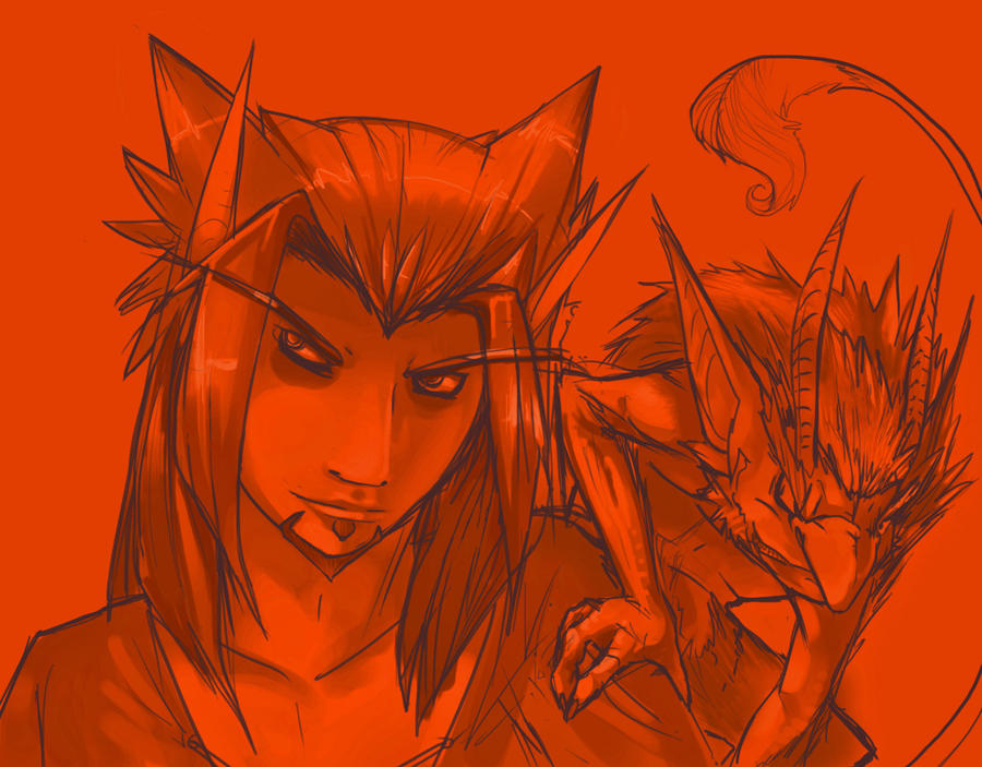 duroxas_and_his_imp_by_phycofox-d4bx6d5.jpg