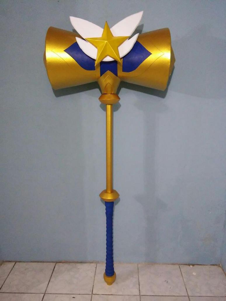 Poppy Star Guardian Hammer by ReplicanteCustom