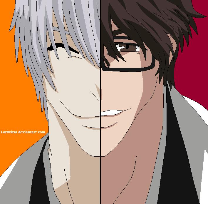 - Gin_Ichimaru_and_Sosuke_Aizen_by_Lordviral