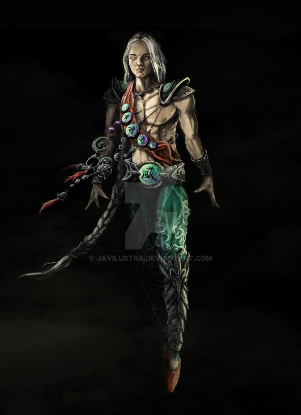 Character Design Mortal Kombat : Fujin mortal kombat by javilustra on deviantart