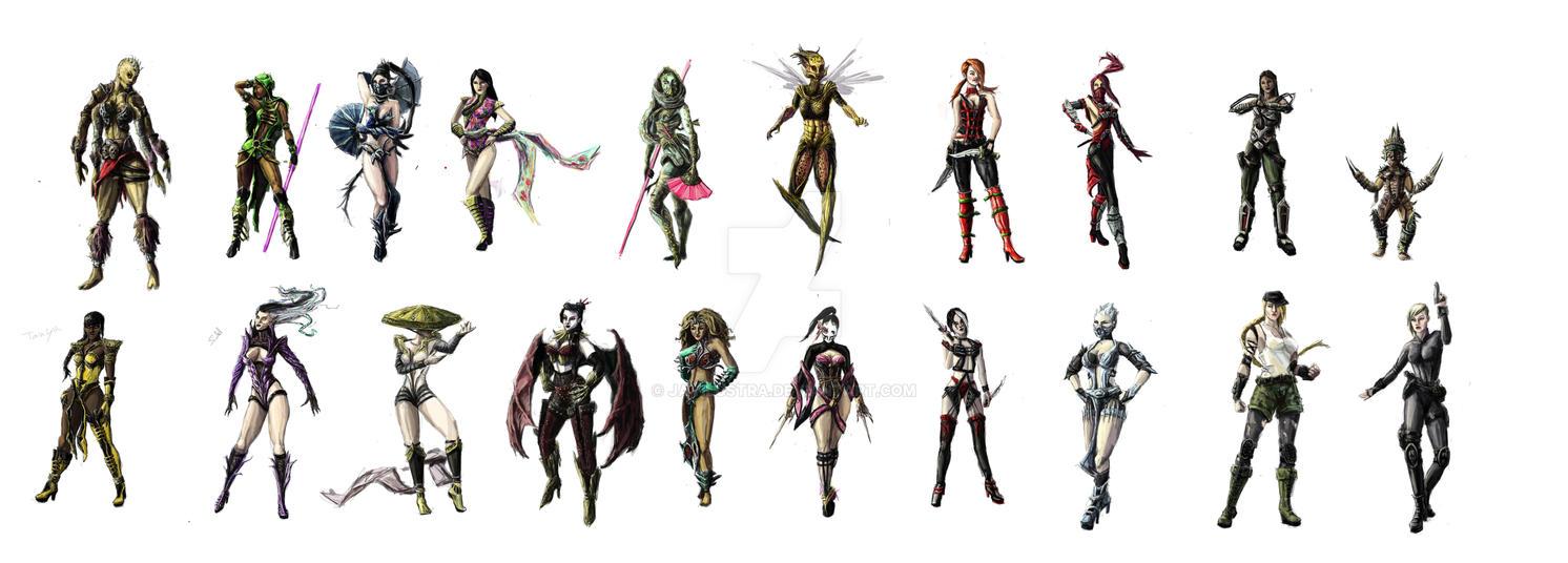 Mortal Kombat Women 42
