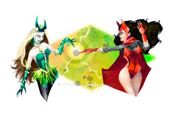 ScarletWitch VS Enchantress
