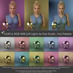 VA2016: RGB HDRi Soft Lights for Daz Studio - Iray