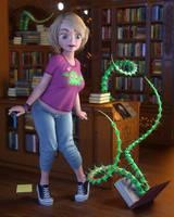 VA2018: Bookworm by VAlzheimer